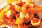 Borůvkové vafle podle Jennifer Lopez