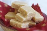 Nepečené marcipánové cukroví