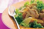 Kuřecí salát s citrusy