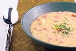 Smetanovo-párková polévka