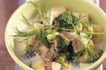 Brokolicová polévka s hlívou