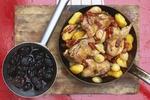 Kuřecí stehýnka se švestkovou omáčkou