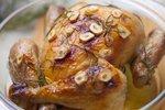 Kuře na rozmarýnu s česnekem