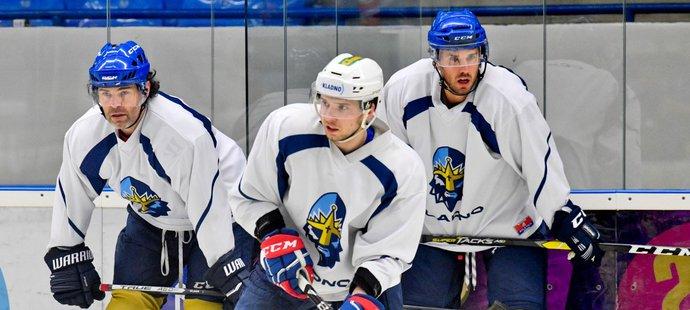 Martin Réway si už o víkendu zatrénoval s Jaromírem Jágrem, v pondělí vyjeli na led s celým týmem