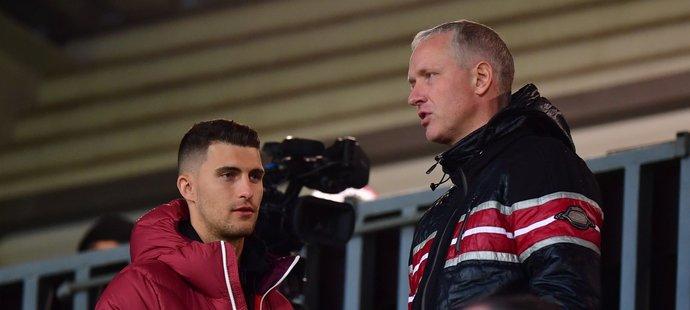 Bývalý trenér Sparty dorazil na zápas Letenských v Olomouci