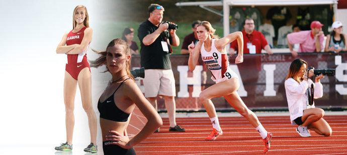 Americká běžkyně Kimberley Ficenecová má českou krev, oba rodiče jsou Češi. Sní o tom, že zemi svých předků bude reprezentovat na olympiádě