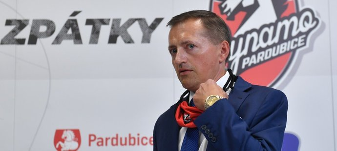Podnikatel a majitel Pardubic Petr Dědek