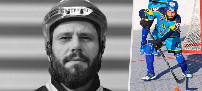 Hokejbalista Peter Gulík zemřel přímo na hřišti.