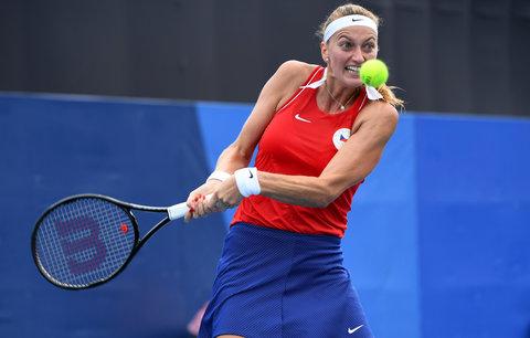 Petra Kvitová v boji o olympijské osmifinále
