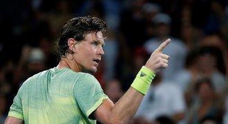 Rozjetý Berdych si vychutnal potlesk: Vyhrát na Autralian Open? Proč ne!