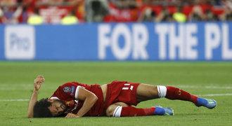 Zraněný Salah: Jsem přesvědčený, že budu na šampionátu v Rusku