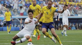 ONLINE: Švédsko - Jižní Korea 0:0. Seveřanům neodpískali penaltu