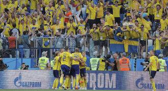 ONLINE: Švédsko - Jižní Korea 1:0. Penalta díky videu, trefil se Granqvist