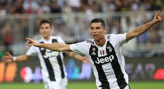 Ronaldo slaví první trofej s Juventusem! Vystřelil titul v Superpoháru