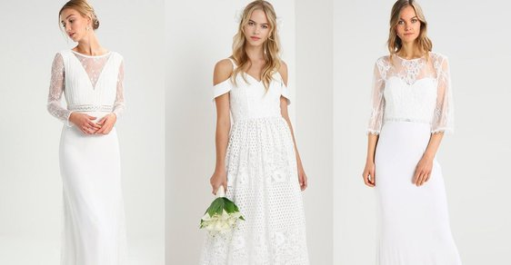 2bc3921cfa32 Svatební šaty z konfekce  Kde právě teď koupíte ty nejkrásnější ...