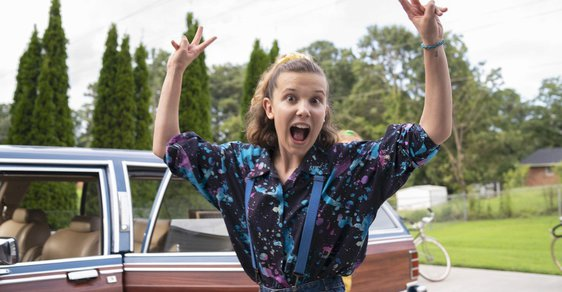 Millie Bobby Brown jako Eleven
