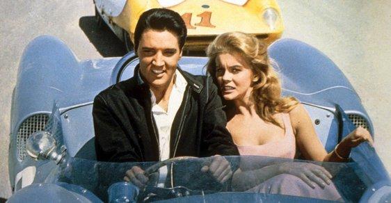Elvis Presley s herečkou Ann-Margaret ve filmu Viva Las Vegas (1978)