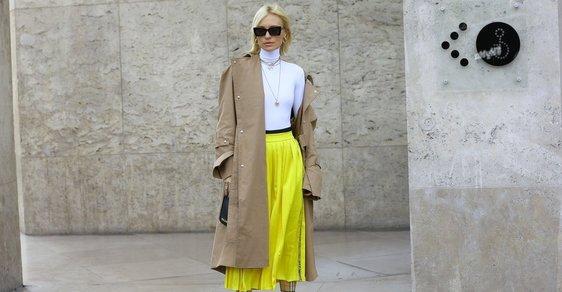 Jak nosit midi sukně na podzim: 3 outfity pro každou z vás!