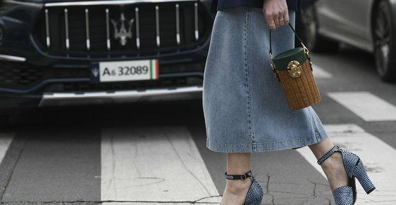 Až vás omrzí džíny: 20 nejlepších denimových sukní z aktuálních kolekcí