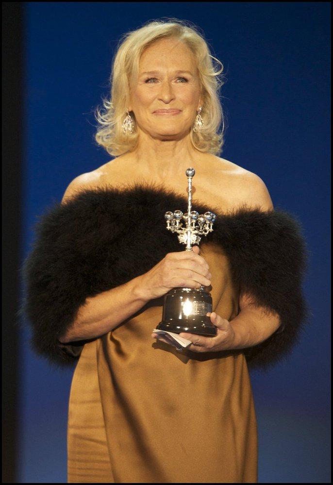 Herečka Glenn Close byla oceněna tamní porotou na filmovém festivalu v San Sebastianu za své celoživotní dílo.