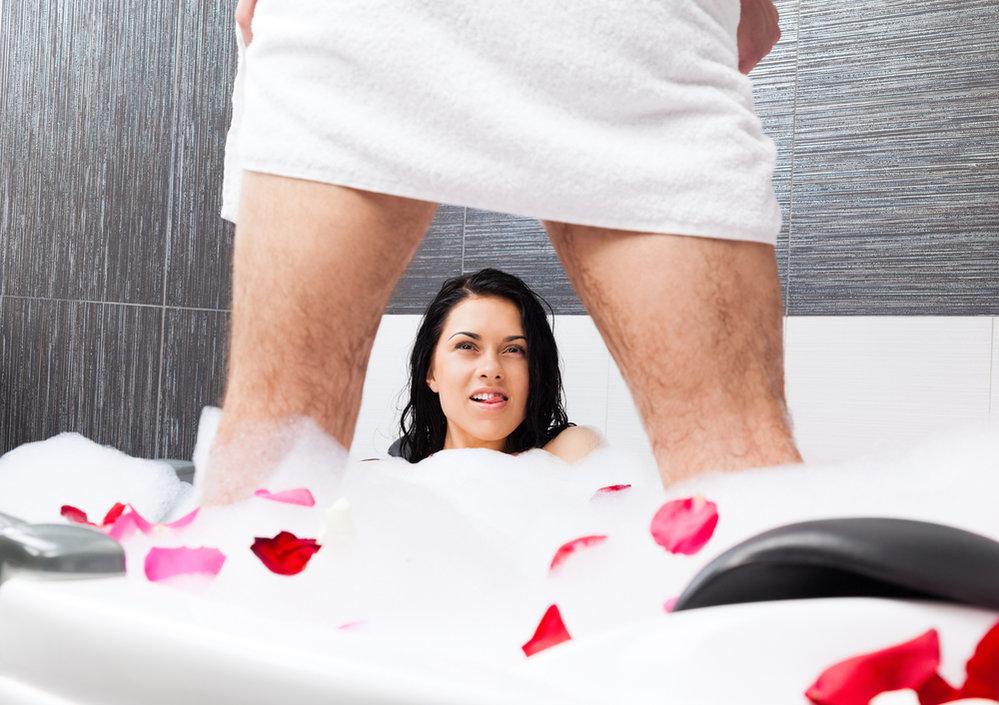 sex v koupelně