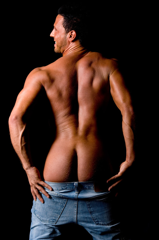 Tvar mužského pozadí vám může prozradit mnohé