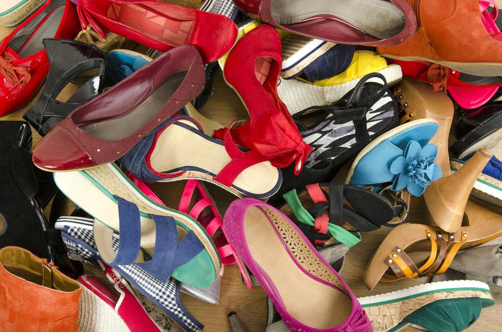 Boty, nepořádek