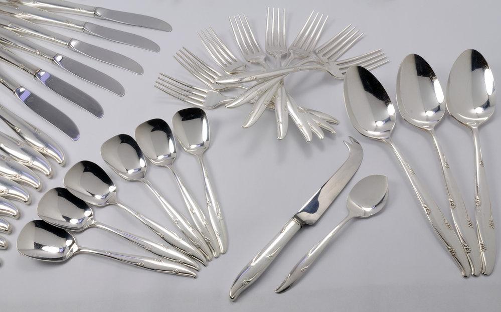 příbory, vidlička, nůž, lžíce