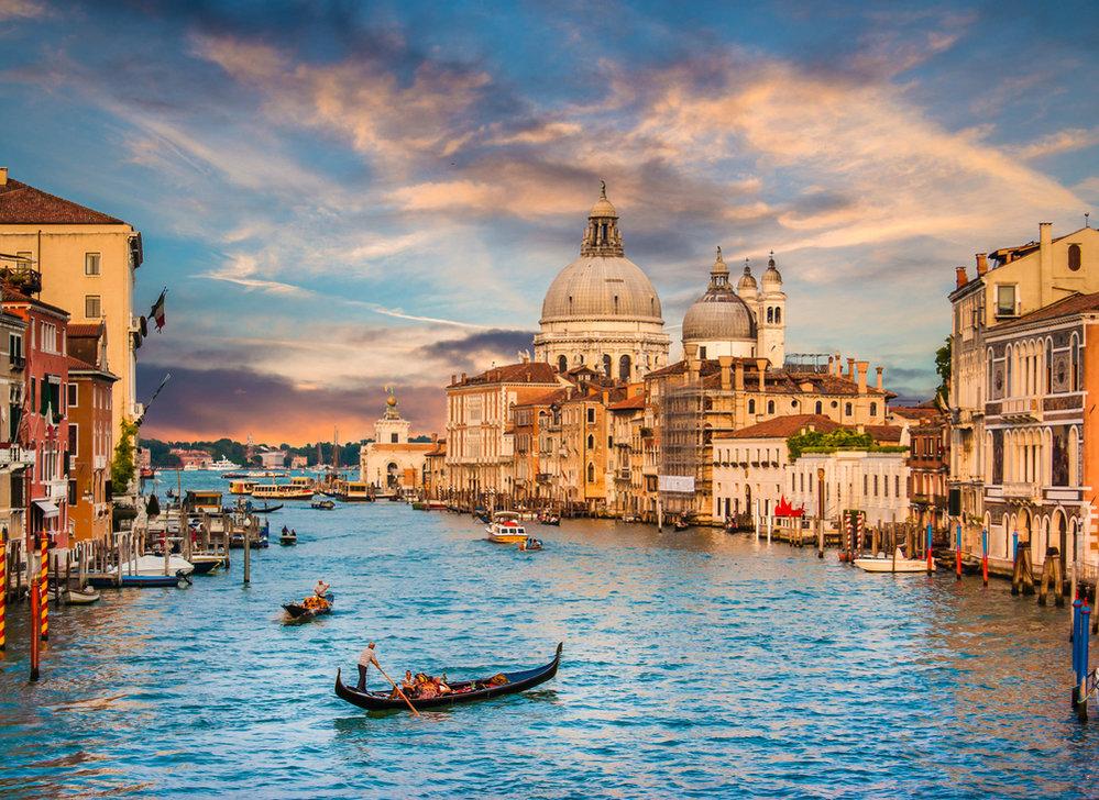 Benátky jsou jedno z nejkrásnějších míst na světě