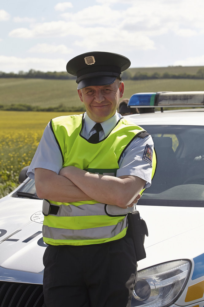 V seriálu Vinaři hrál policistu Patrika Tauše.
