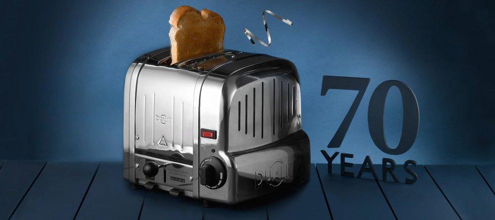 Toaster Dualit Vario letos slaví 70 let.