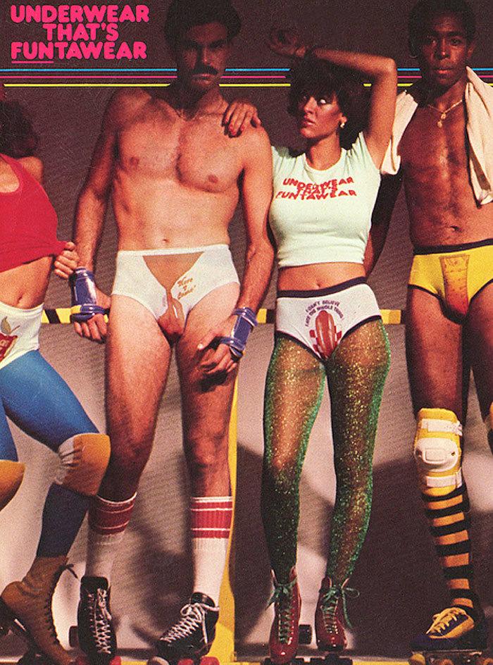 Módní katalogy v 70. letech byly plné sexy kousků