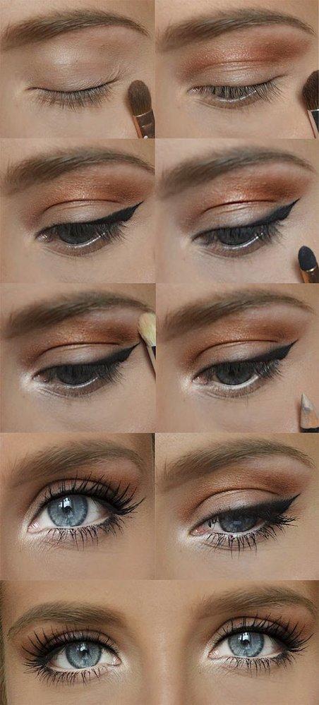 Líčení pro modré oči