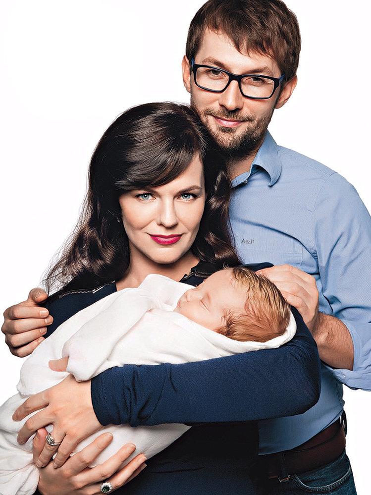 Marta Jandová ajejí muž Miroslav Verner společně vzpomínají, jak prožívali období těhotenství anarození miminka.