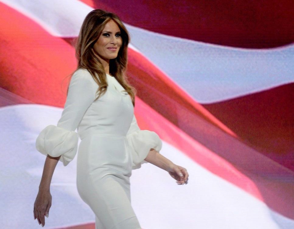 První dáma USA Melania Trump