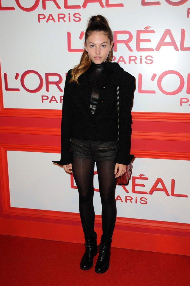 Thylane Blondeau se dostává do světa největšího modelingu.