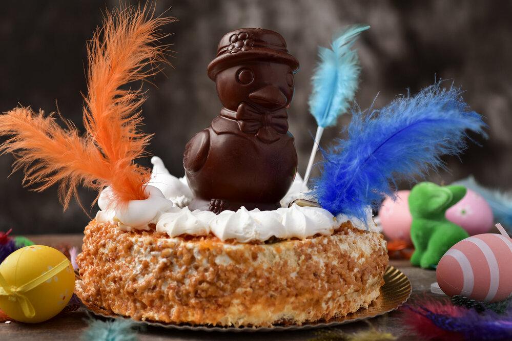 Španělský velikonoční koláč