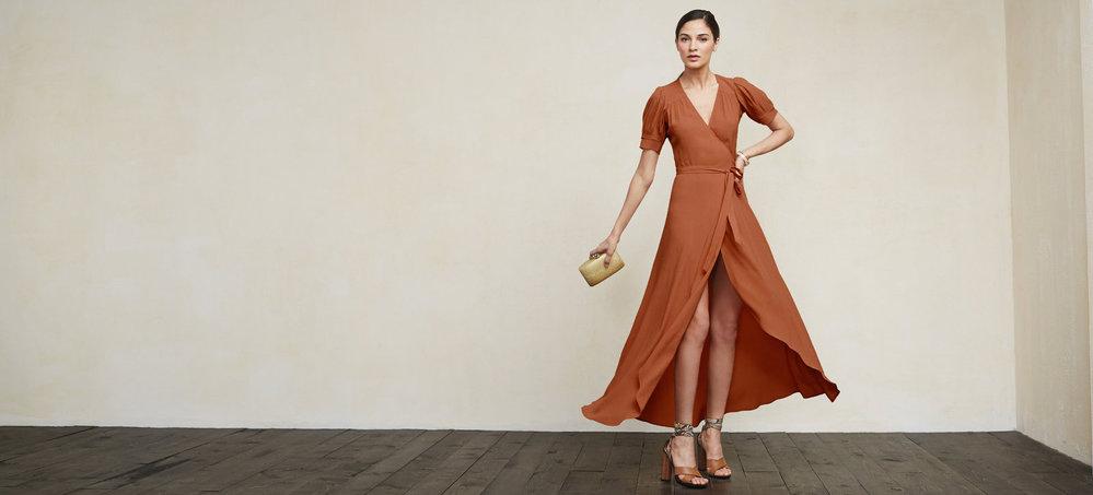 Zavinovací šaty Reformation