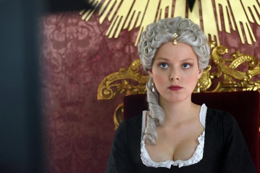 Marie-Louise Stockinger v roli Marie Terezie