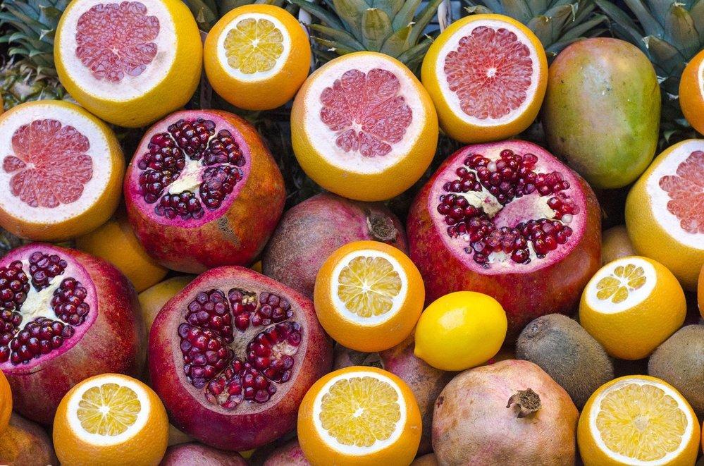 Čerstvé ovoce a zelenina naopak křeče zmírňují