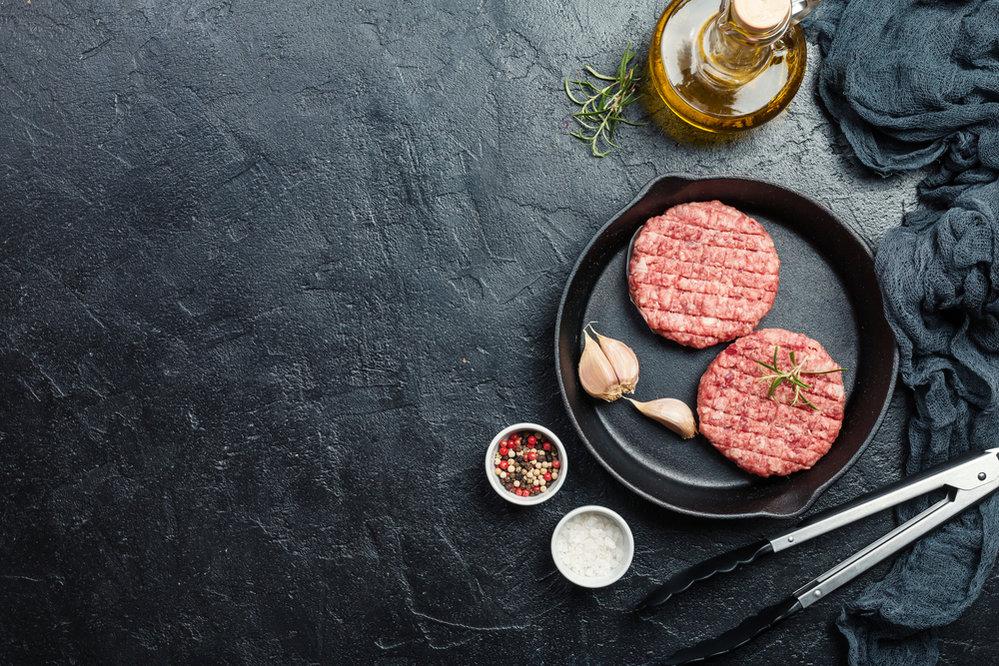 Tučné maso je třeba i maso mleté