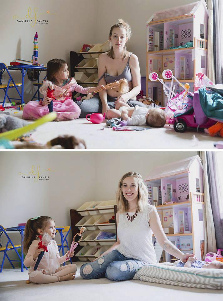 Dvě tváře mateřství podle Kathy DiVincenzo