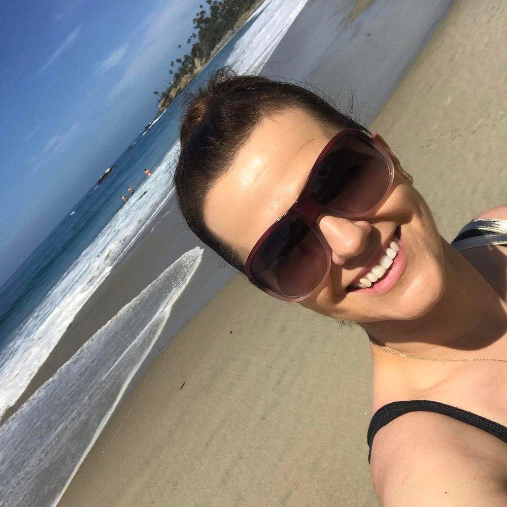 Marta Jandová v Kalifornii