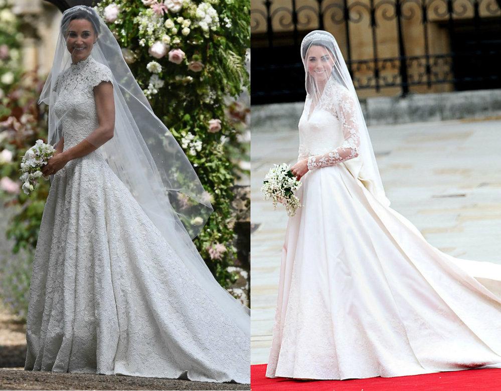 Pippa versus Kate ve svatebním