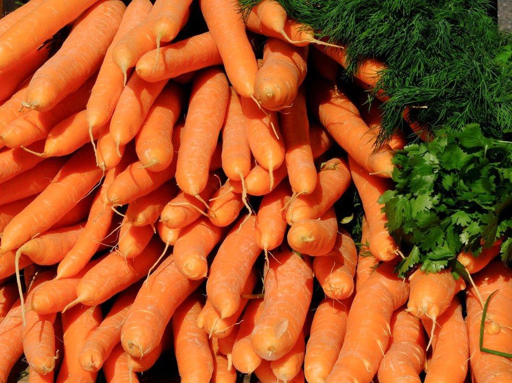 Nyní si můžete koupit klidně mrkev