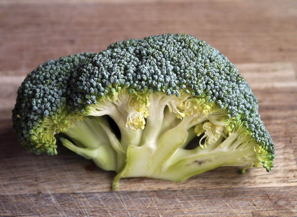 Věřili byste, že brokolice má tolik vody?