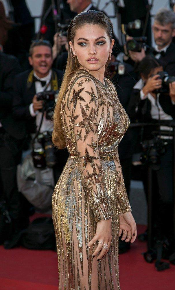 Francouzská modelka Thylane Blondeau