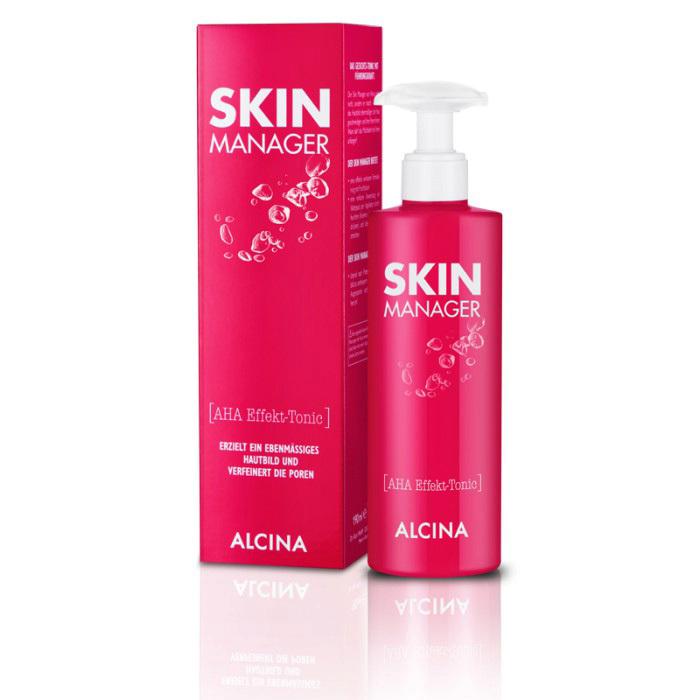 Zjemňující tonikum s AHA kyselinami Skin Manager, Alcina, 275 Kč