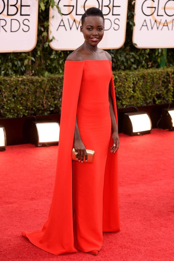Lupita Nyong'o v šatech Ralph Lauren