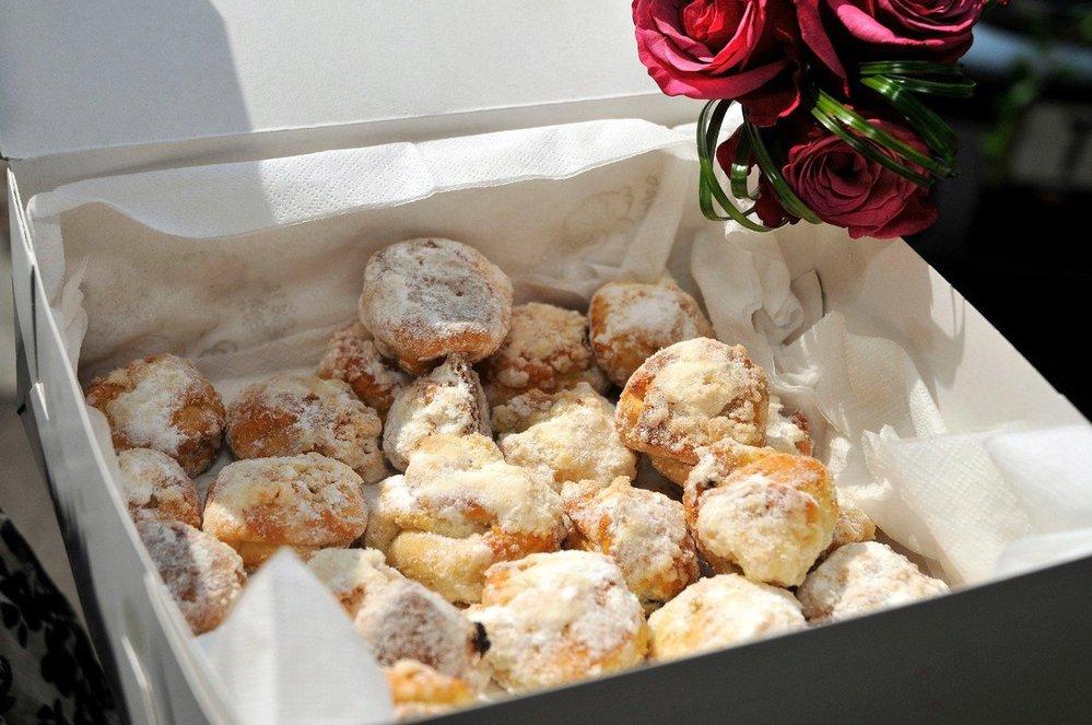 Svatební koláčky bez kynutí
